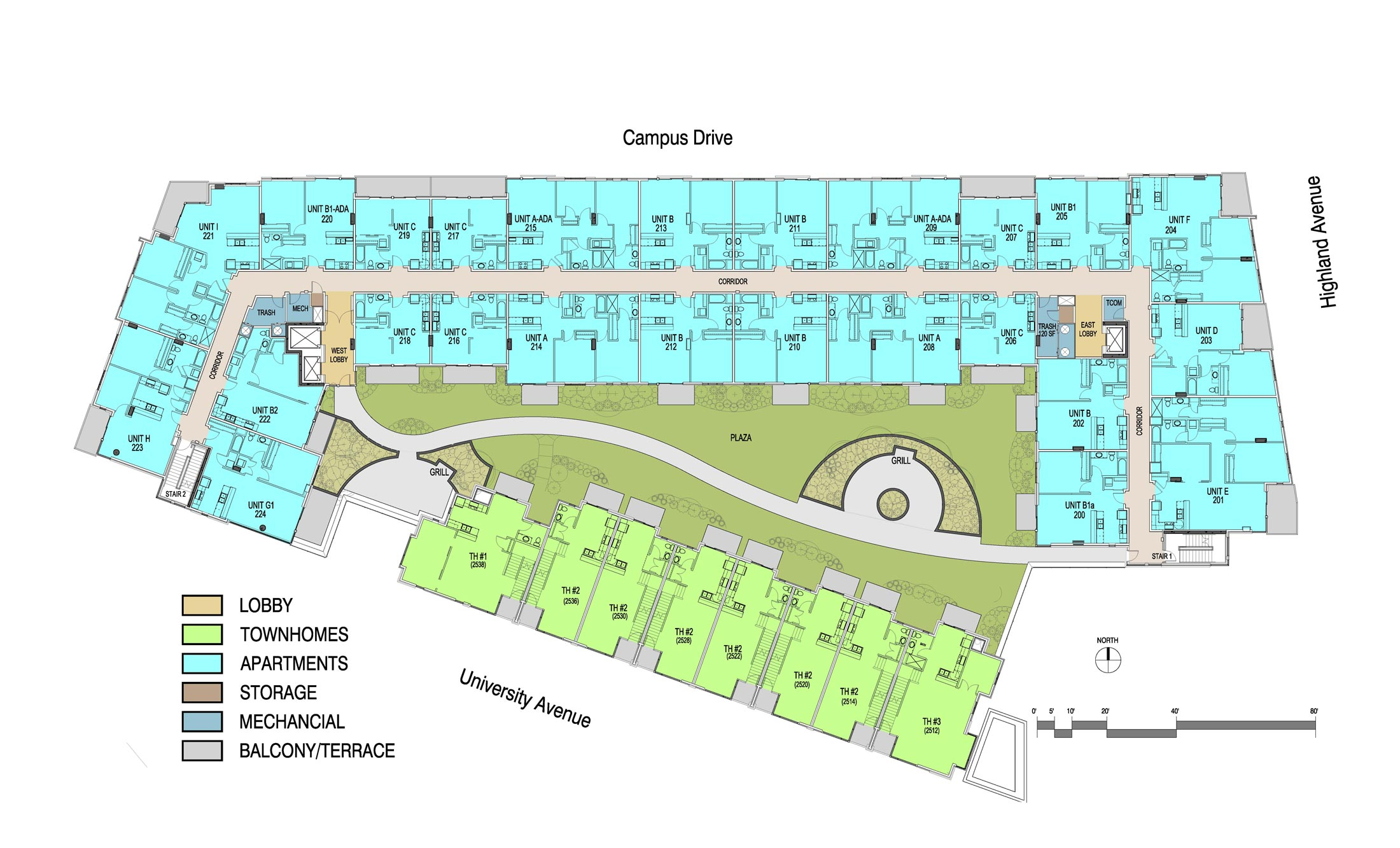 100 Apartment Building Floor Plans King Building  : 2550level2 from 45.76.23.192 size 2200 x 1333 jpeg 326kB